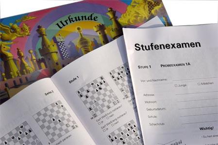 Stappenmethode, Examen und Urkunde Stufe 1